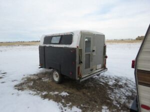 8 x 6 enclosed utility trailer