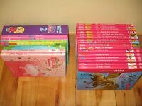 23 livres Winx et bibliothèque rose