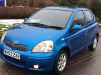 Toyota Yaris 2004 T Spirit Model Top Spec, Like VW Polo, Fiesta Corsa