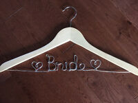 WEDDING - Personalized Wire Hangers - Custom Orders!