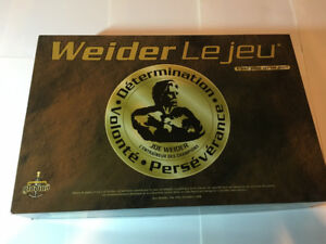 Weider Le Jeu Complet Nutrition/Anatomie/Sports