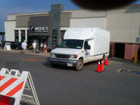 CUBE VAN & DRIVER AVAILABLE FOR MOVING CARTAGE DELIVERY PICKUP