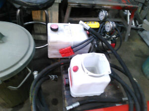 12 volt Hydraulic power pack
