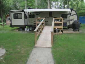 36 Foot 2015 Forest River Camping Trailer