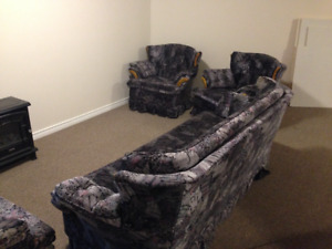 Couch, Love Seat & Chair Set