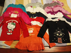 $15 for 16 long sleeve tees (4yr, girl)