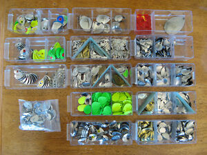 Hooks, Blades, Weights, Swivels, Lures, Lure Beads and much more