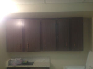 Cupboards/wash sink