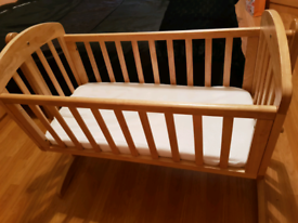 Wooden cradle /crib