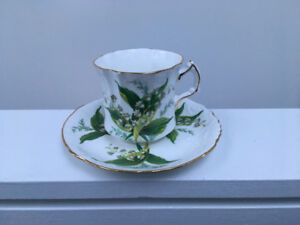 Hammersley Lily of the Valley Cup and Saucer