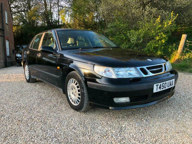 1999 Saab 9-5 2.0t 4dr 1owner with FSH... SALOON Petrol Manual