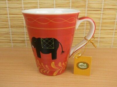 se Keramik BENARES Cha Cult handbemalt Elefant (Bemalte Tasse Tee)