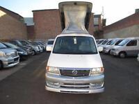 1999 MAZDA BONGO DIESEL 8 SEATE 4WD AUTO FREE TOP