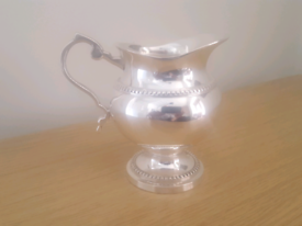 Brand new antique style silver plated mini jug.