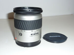 sony AF28-80mm F3.5-5.6mm lens for A mount