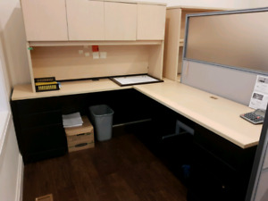 Office desks and partition walls ..lots of items