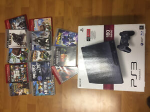 Ps3 and 13 games $175.00