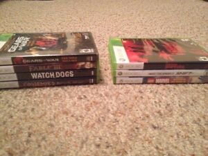 Xbox 360 games and gta 4 computer game with poster