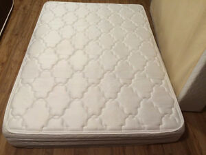 Double Size Euro Plush mattress and boxspring