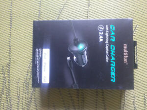 Brand New Car Charger for Iphone/Ipad/Ipod