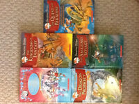 Hard cover Geronimo Stilton series and 1 Hard Cover Thea Stilton