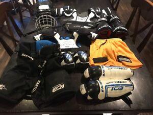 Junior Hockey equipment (4-5 yrs)