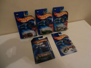 Hot Wheels Various JDM cars Supra,MR2,Acura Lot of 5