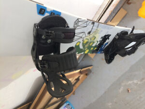 Men's snowboard, bindings and boots. $325obo