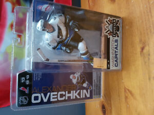 Ovechkin hockey figure in package.SOLD