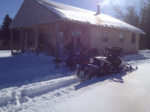 Fully winterized camp for sale