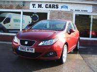 2010 (10) Seat Ibiza 1.4 16v SE 5d ** New MOT **