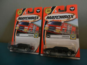 Matchbox 1:64 Chase Cars 2001 50 Th Anniversary Logos Limo