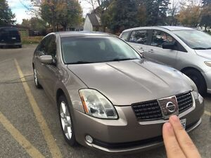 2004 Nissan Maxima SE -Clean, Low K's, No accident As Is