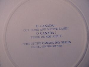wedgwood Constitution Mug and Canada Day Plate London Ontario image 8