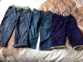 Baby Boden jeans/ trousers age 2-3 years