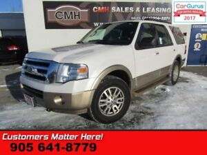 2011 Ford Expedition XLT  4X4, LEATHER, ROOF, 8-PASS, PWR SEATS,