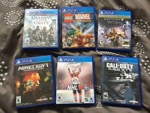 PS4 Games for sale all EUC