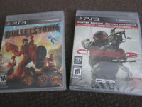 "PS3 ""Battle"" Games - Bulletstorm - NEW, Sealed"