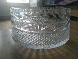Beautiful crystal bowl