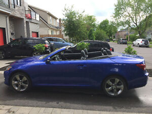 2010 Lexus IS250C Hardtop Convertible