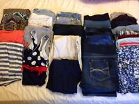 Maternity clothes bundle size 16-18
