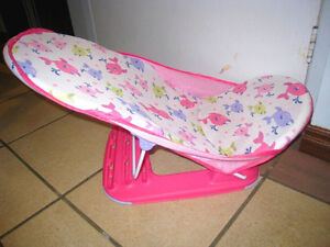 New Pink Summer Infant Baby Bather Lounger