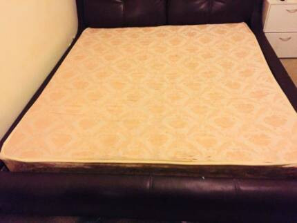 Symbol Mattress King Size Firm Plush Pillow Top Bed