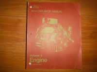 1974 Ford Lincoln Mercury Engine Service Manual Mustang Cougar