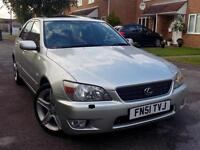 51 PLATE 2001 Lexus IS 200 2.0 SE 4dr+LEATHER SEATS+SUNROOF+YEAR MOT+HPI CLEAR