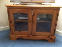 Pine TV cabinet ideal for DIY project