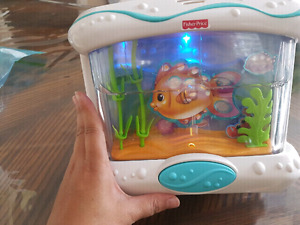 Fisher Price Kids Toy for Crib  Attached to the side  Easy to se