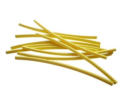 6 7/12ft Heat Shrink Tube Yellow 0 3/32in Auf 0 1/16in Ideal for Thin (Heated 16in Strand)