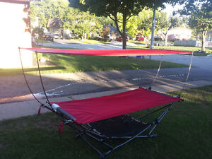 Portable Hammock With Sunshade Kitchener / Waterloo Kitchener Area image 1