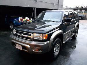 1999 Toyota 4Runner SR5 Limited, suv North Shore Greater Vancouver Area image 2